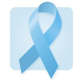 Блакитна стрічка - обрано за символ місяця обізнаності з РП